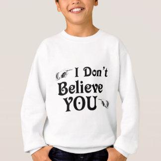 Camisetas Eu não o acredito