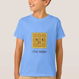 Camisetas Eu sinto o Waffle!