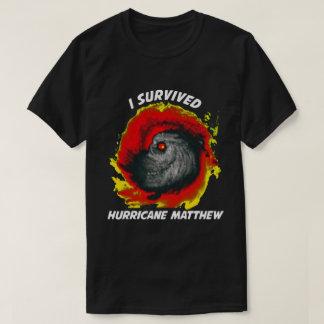 Camisetas Eu sobrevivi ao furacão Matthew 2016