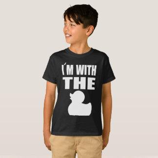 Camisetas Eu sou com o pato