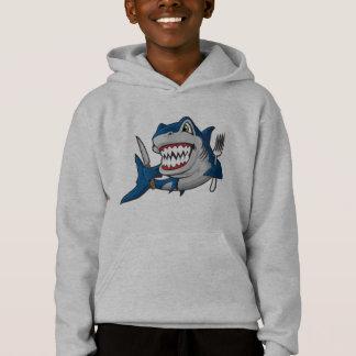 Camisetas Eu sou um tubarão com fome