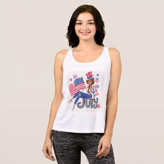 Camisetas EUA bandeira americana o 4 de julho patriótico