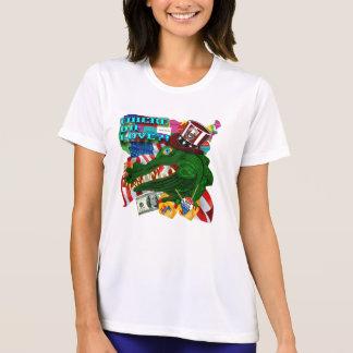 Camisetas EUA Estilo 1 onde a Dinamarca ama?!