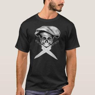 Camisetas Facas do crânio n do cozinheiro chefe