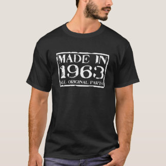 Camisetas feito em 1963 todas as peças do original