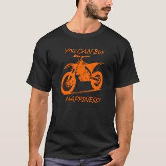 Camisetas Felicidade do comprar - laranja no preto (KTM)