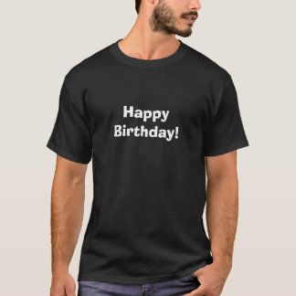 Camisetas Feliz aniversario!