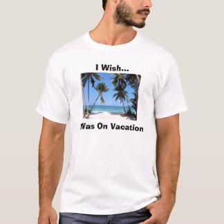 Camisetas Férias