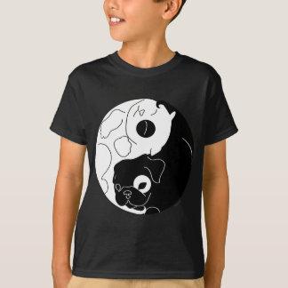 Camisetas Filhote de cachorro e gatinho Ying Yang