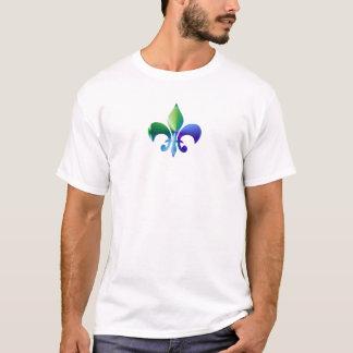 Camisetas Flor de lis:  Padrões da assinatura por Naveen