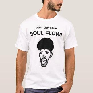 Camisetas Fluxo da alma com imagem (identidade pessoal)