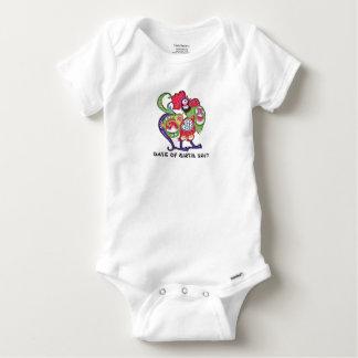 Camisetas Galo chinês personalizado W/Year do zodíaco