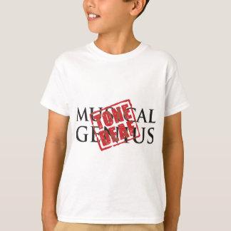 Camisetas Gênio musical: carimbo de borracha surdo do tom