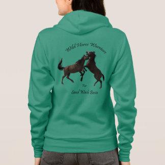 Camisetas Guerreiros do cavalo selvagem