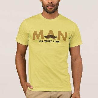 Camisetas Homem, é o que eu sou
