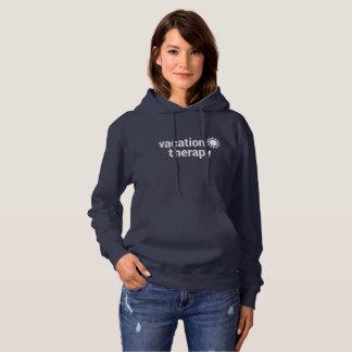 Camisetas Hoodie da terapia das férias
