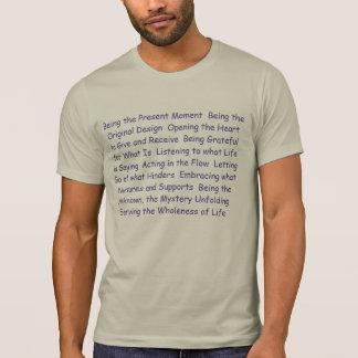 Camisetas humanas inteiras - sendo o momento atual