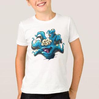 Camisetas Interruptor automático feliz da caixa do tentáculo