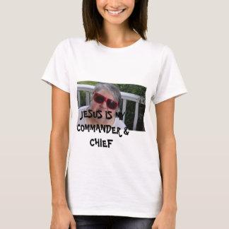 Camisetas Jesus é meus comandante e chefe