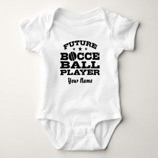 Camisetas Jogador futuro da bola de Bocce