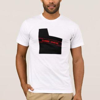 Camisetas Jogo sobre a luva do jogo