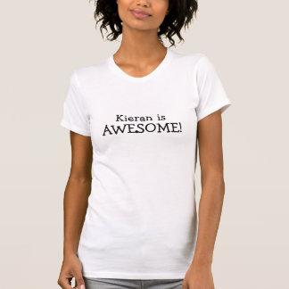 Camisetas Kieran é impressionante