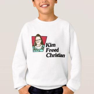 Camisetas Kim livrou a camisola do menino cristão
