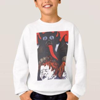 Camisetas Krampus que pune crianças