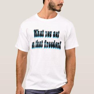 Camisetas Liberdade da venda