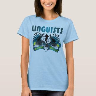 Camisetas Lingüistas idos selvagens