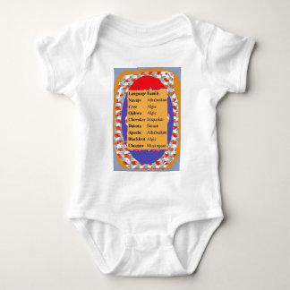 Camisetas Lista popular das línguas do nativo americano: