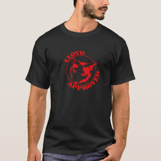 Camisetas Lloyd aprovou - os homens pretos