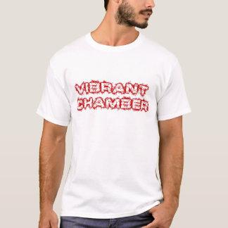 Camisetas Logotipo vibrante da câmara básico