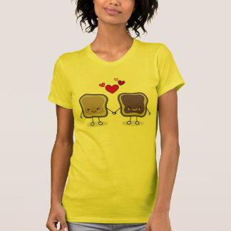 Camisetas Manteiga e geléia de amendoim