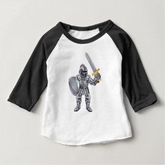 Camisetas Mascote dos desenhos animados do cavaleiro