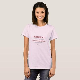 Camisetas Memórias, memórias - ecos do passado