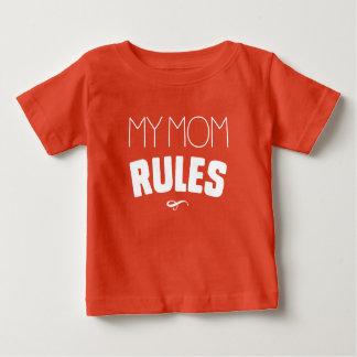Camisetas Minhas regras da mamã