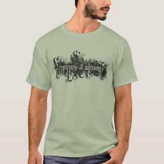 Camisetas money=slavery