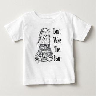 Camisetas Não acorde o urso