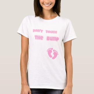 Camisetas Não toque no rosa