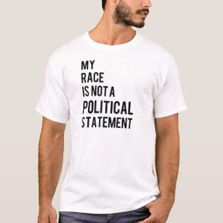 Camisetas Não uma indicação política
