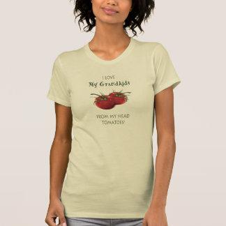 Camisetas Netos do amor de meus TOMATES principais! Arte