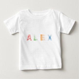 Camisetas Nome de letra de Alex