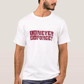 Camisetas Nunca esqueça 1984