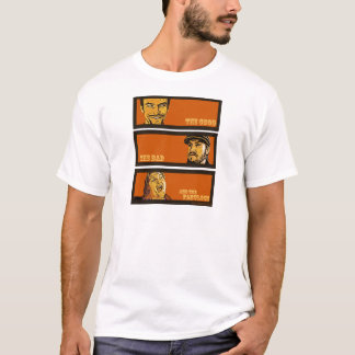 Camisetas O bom, o mau, e o fabuloso