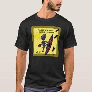 Camisetas O caiaque rema bem com outro II