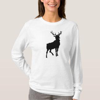 Camisetas o Hoodie cheirado vermelho da rena