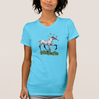 Camisetas O potro e as borboletas
