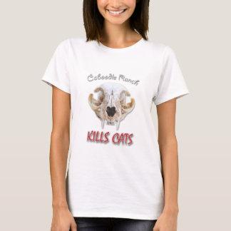 Camisetas O rancho do Caboodle mata gatos