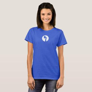Camisetas O T de Montessori do lugar de crescimento